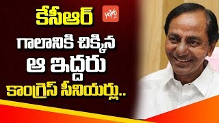 Telangana Senior Congress Leaders Ready to Jump into CM KCR's TRS Party!? | TS Politics