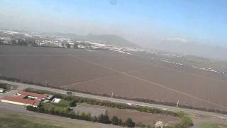 Boeing 767 take off in Santiago de Chile SCL - LAN Airlines LA445 SCL-EZE