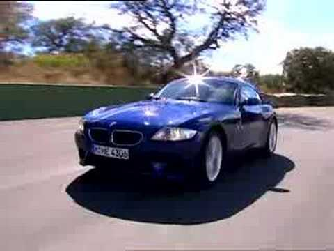 BMW Z4 M Coupe promotional video Video