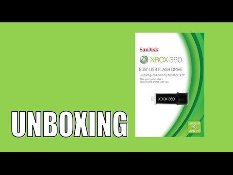 Unboxing Official Xbox 360 8GB USB Flash Drive