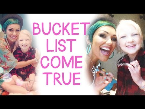 Bucket List Come True: Ella and Kandee, Our Day Together