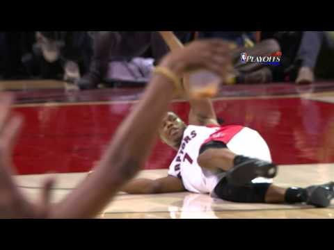 Kyle Lowry Banks Home the Floating Buzzer-Beater