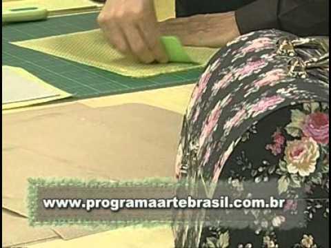 ARTE BRASIL -- LUIZ MASSE -- MALETA DE CARTONAGEM (30/09/2010 - Parte 1 de 2)
