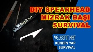 Making a Survival Spear | DIY | Steel SpearHead