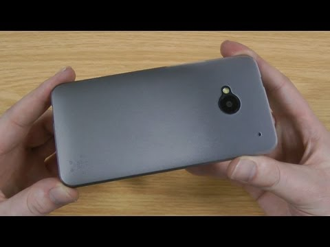 Belkin Micra Fine Ultra Thin HTC One Case Review - Clear Steel F8M570