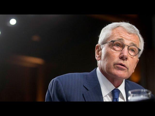 Chuck Hagel Announces Resignation as Defense Secretary