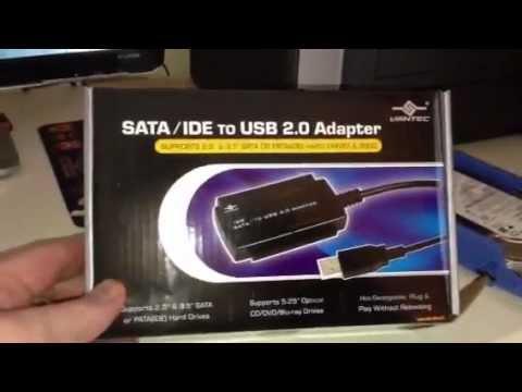 SATA/IDE USB Adapter, Hard Drive