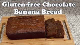 Gluten-free Chocolate Banana Bread
