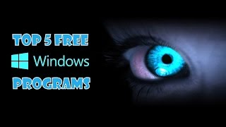 Top 5 FREE Programs To Download And Install On Windows VideoMp4Mp3.Com