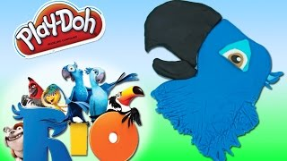 Play Doh Rio 2 Blu Playdough toy