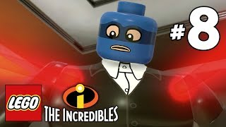 LEGO INCREDIBLES Gameplay Walkthrough Part 8 Vigilant Vigilantes PS4