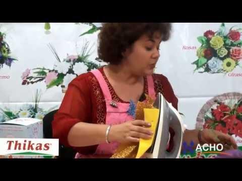 Figuras Baby Shower, Bebe Fiesta con Moldes para hacer Flores Artificiales de Foami HD