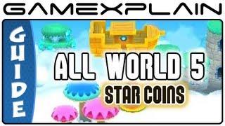 New Super Mario Bros. 2: World 5 Star Coins (All 33!) Guide & Walkthrough