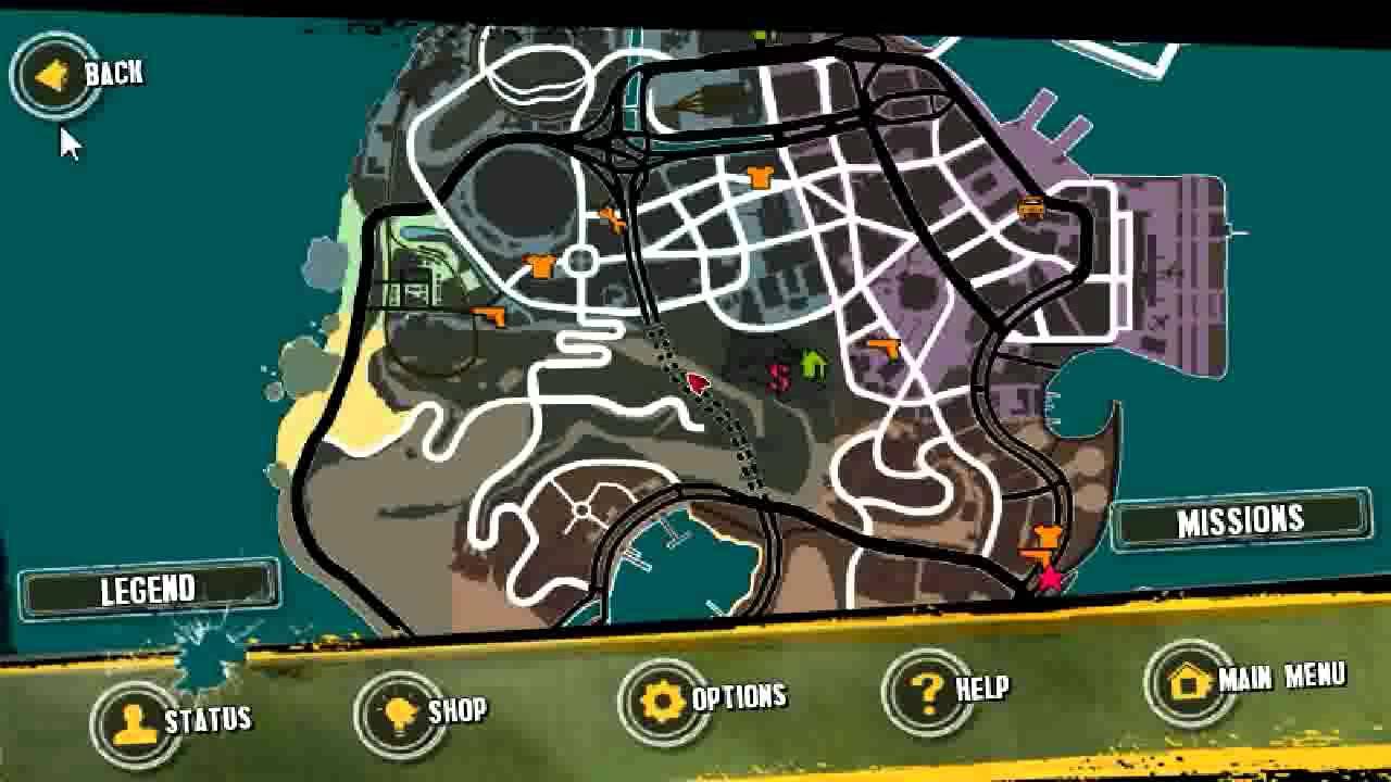 Gangstar Rio Map Gangstar Rio: how to f...