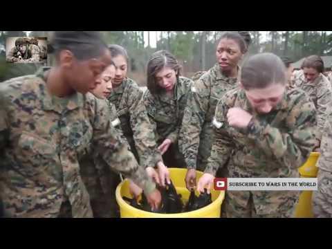 How Female United States Marines Are Made   Marine Corps Female Recruit Boot Camp Training 2016