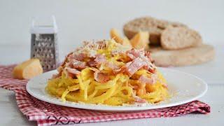 Спагетти карбонара со сливками — классический рецепт