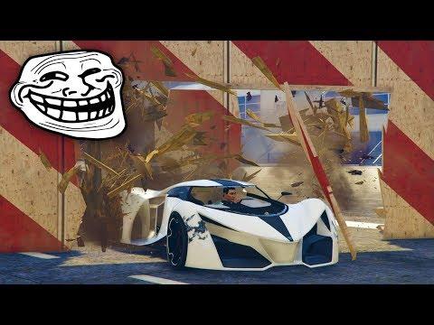 CARRERA PARA ANTI-TROLLS!! - CARRERA GTA V ONLINE - GTA 5 ONLINE