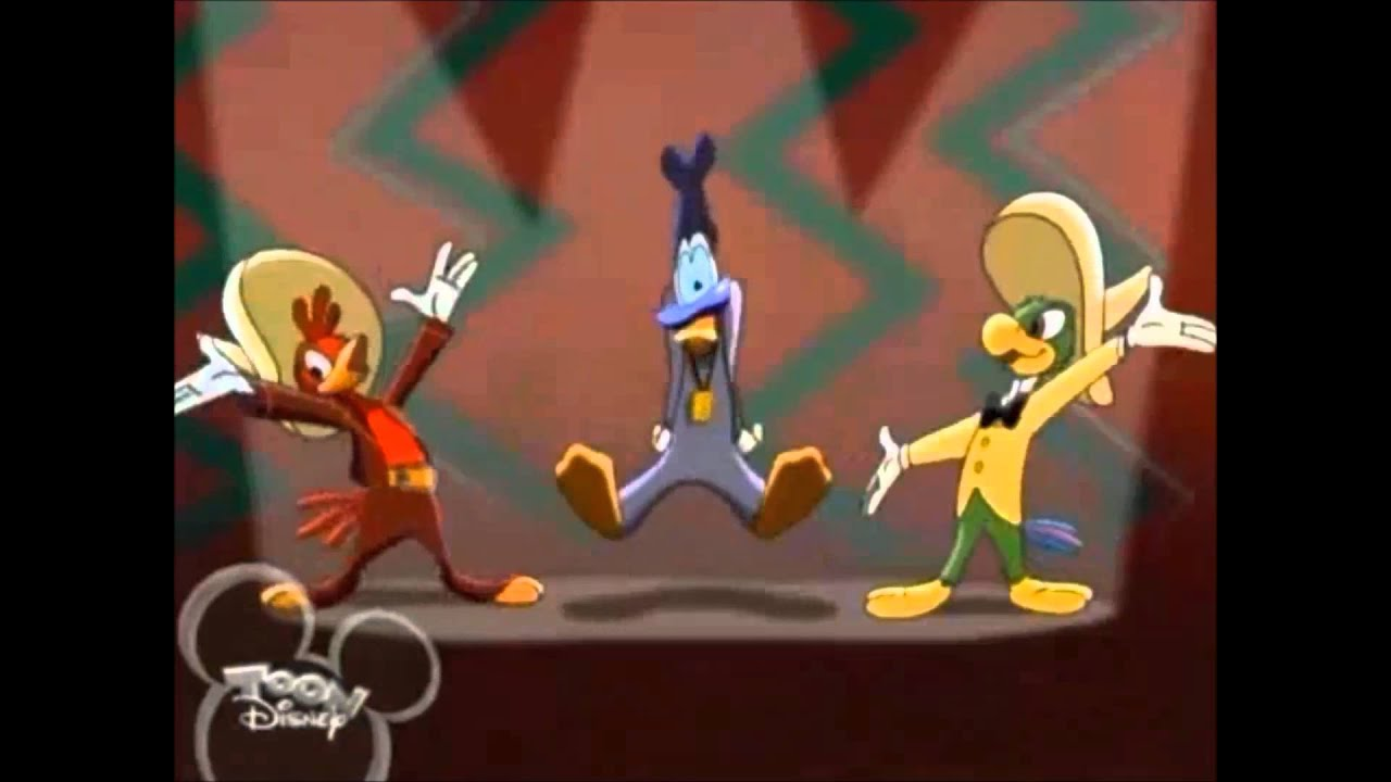 The three caballeros house of mouse youtube