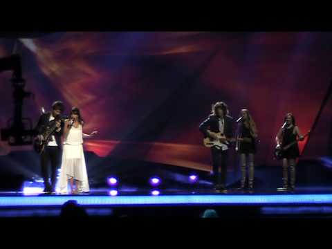 2nd rehearsal SPAIN ESDM - Contigo hasta el final (Eurovision 2013)