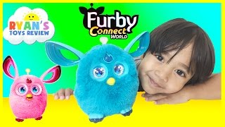Furby Connect toy for Kids Unboxing and Playtime with  Ryan ToysReview