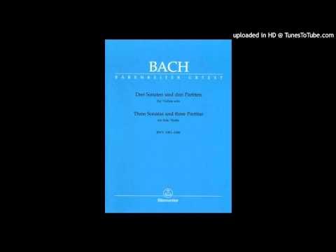 Бах Иоганн Себастьян - BWV 1004 - 2. Куранта