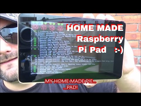 Home Made Raspberry Pi Pad - Amazing wooden touch screen PiPad