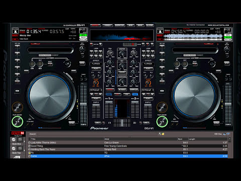 New Virtual DJ V7 Skin september 2011 Pioneer DDJ-V1