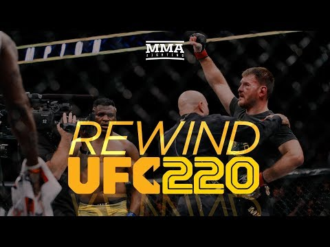 Rewind: UFC 220 Edition - MMA Fighting
