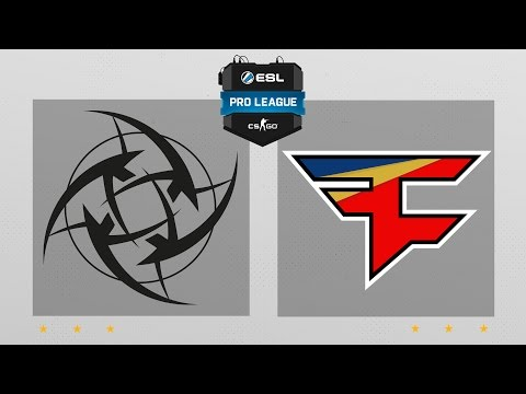 CS:GO - NiP vs. FaZe [Overpass] Map 2 - ESL Pro League Season 5 - EU Matchday 9