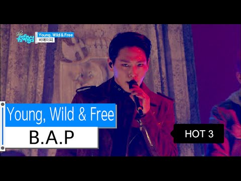[Comeback Stage] B.A.P - Young, Wild & Free, 비에이피 - 영 와일드 앤 프리, Show Music core 20151121