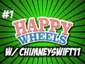 default Happy Wheels w/ ChimneySwift11 #1 Givin Him a Little Man Tug (HD)