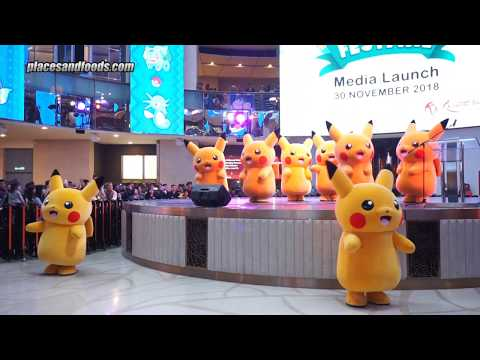 Genting Pokemon Festival Pikachu Dancing with Pokemon Song