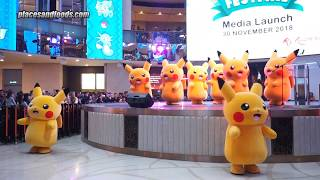 Genting Pokemon Festival Pikachu Dancing with Pokemon Song