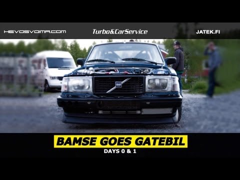 Bamse Goes Gatebil - Days 0 & 1
