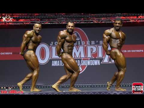 2016 Olympia Amateur Moscow Bodybuilding OVERALL