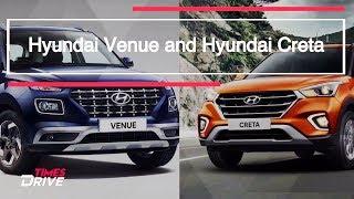 Hyundai Venue vs Hyundai Creta: How small is the Venue as compared to the Creta?