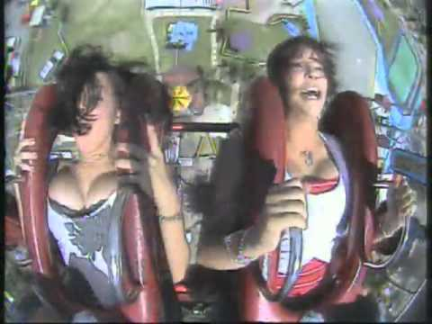 Roller Coaster & Big Boobs video