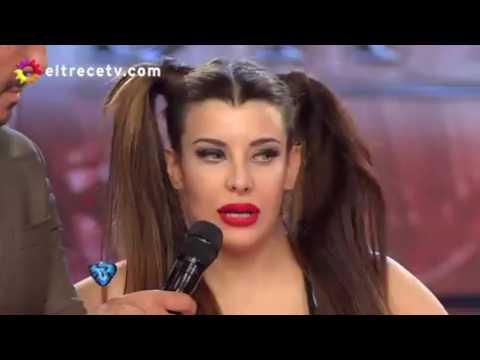 Charlotte Caniggia, papelón y bajo puntaje en el Bailando