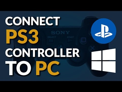 Connect PS3 controller to PC tutorial - 2016 Win 10 tutorial