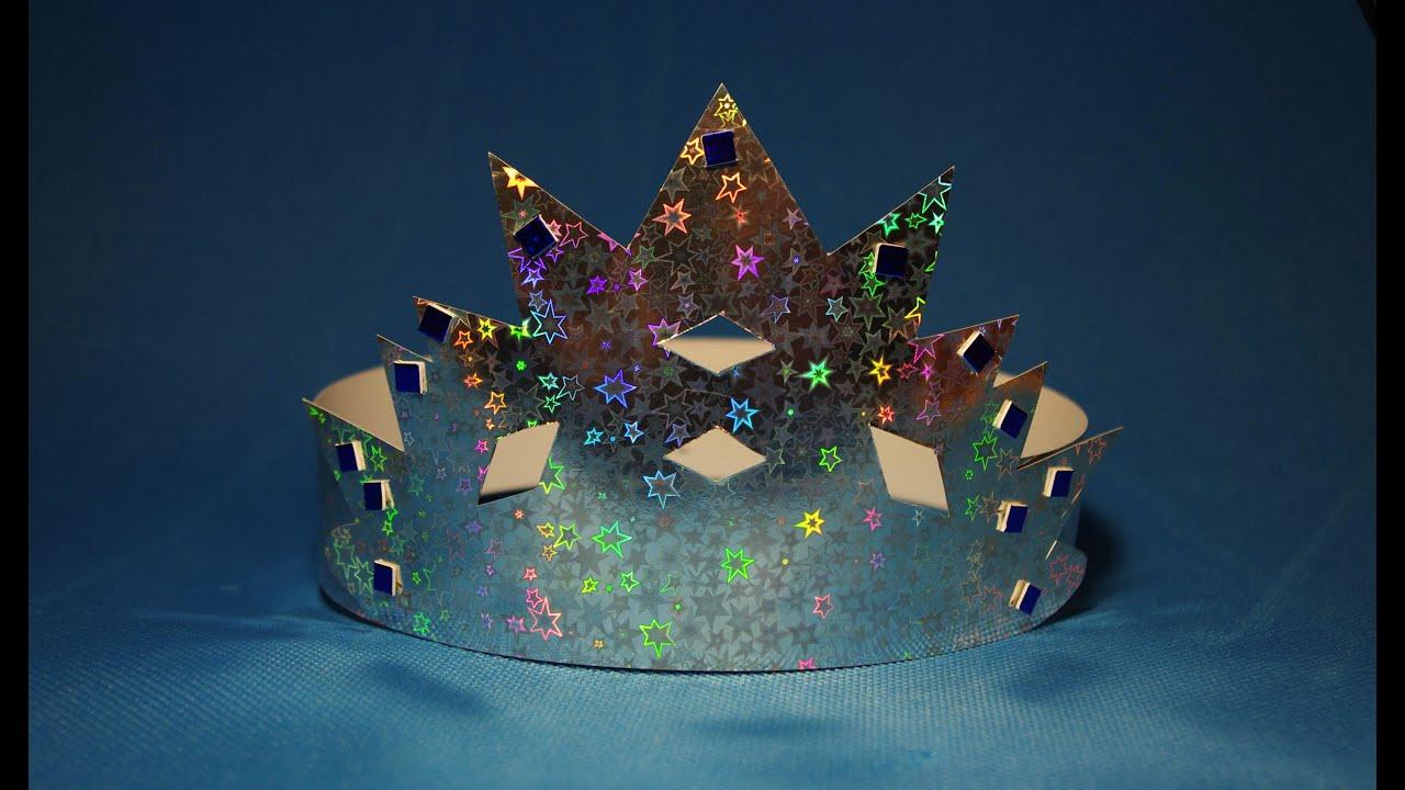 Как сделать корону новогоднюю своими руками 19