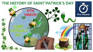 Saint Patrick's Day History for Kids - Narrated Animation