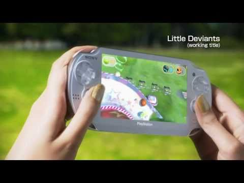 Sony NGP 'Games Trailer'