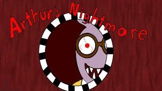 WORLD'S SCARIEST CARTOON... | Arthur's Nightmare (CARTOON HORROR GAME)