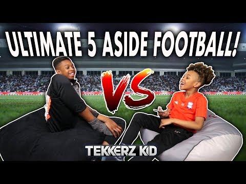 Tekkerz Kid vs Bro! | ULTIMATE 5-A-SIDE FOOTBALL!