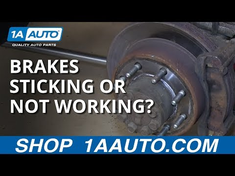 Silverado Sierra Rear Disc Brakes Dragging Sticking or Heating up? Three Things to Check