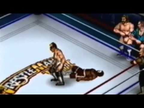 Fire Pro Wrestling Returns - Wrestlemania 8 (VIII) (Ultimate Warrior. Hulk Hogan. Ric Flair. etc.)