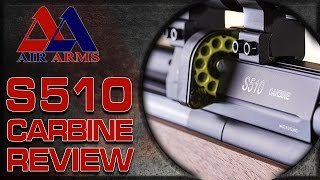 Gun & Shooting Review - The Air Arms S510 Carbine