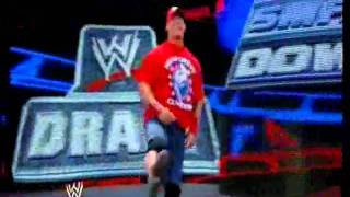 John Cena Drafted To Smackdown