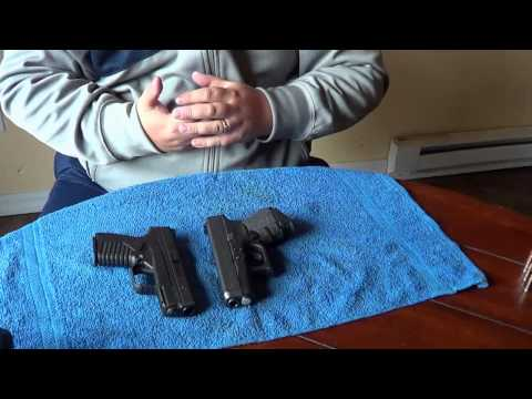 Springfield XDS vs Glock26/27: Size & Feature Comparison