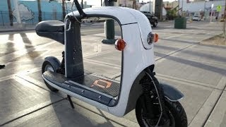Lit Motors Kubo Cargo Scooter | CES 2014